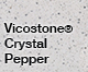 Vicostone Crystal Pepper