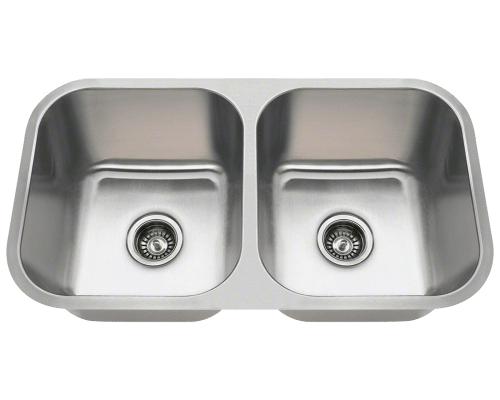 SA8123 Double Bowl Undermount Stainless Steel Sink